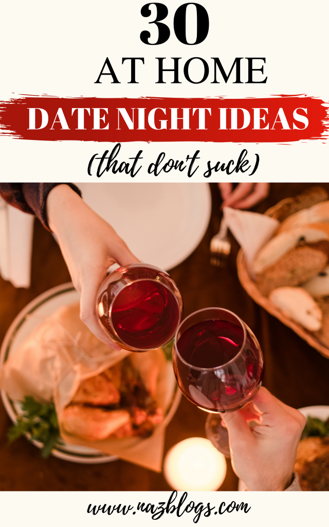 30 at home date night ideas