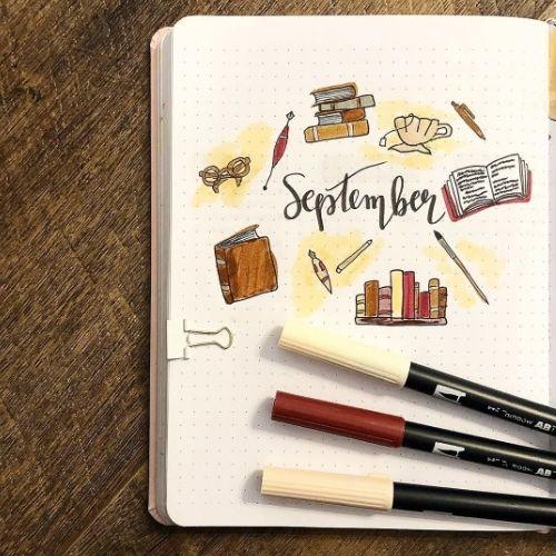 bullet journal back to school