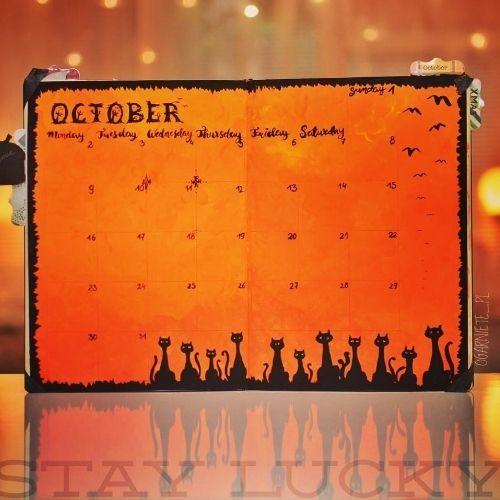 Fall Bullet Journal Ideas