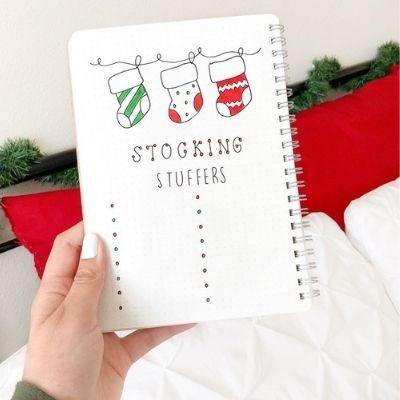 Christmas Bullet Journal Doodles