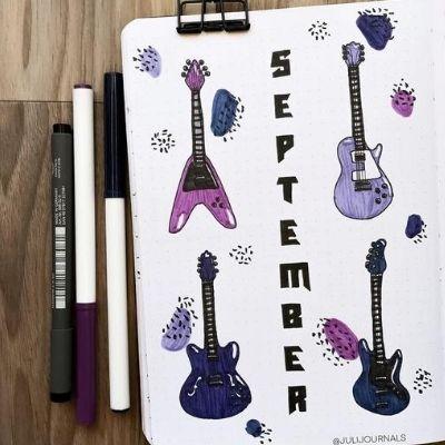 September Bullet Journal Ideas