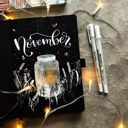 November Bullet Journal Ideas